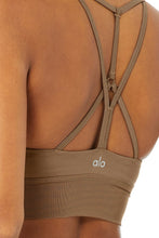 Load image into Gallery viewer, Alo Yoga XS Lavish Bra - Gravel Glossy