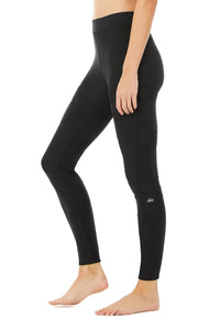 Alo Yoga XXS High-Waist Level-Up Legging - Black