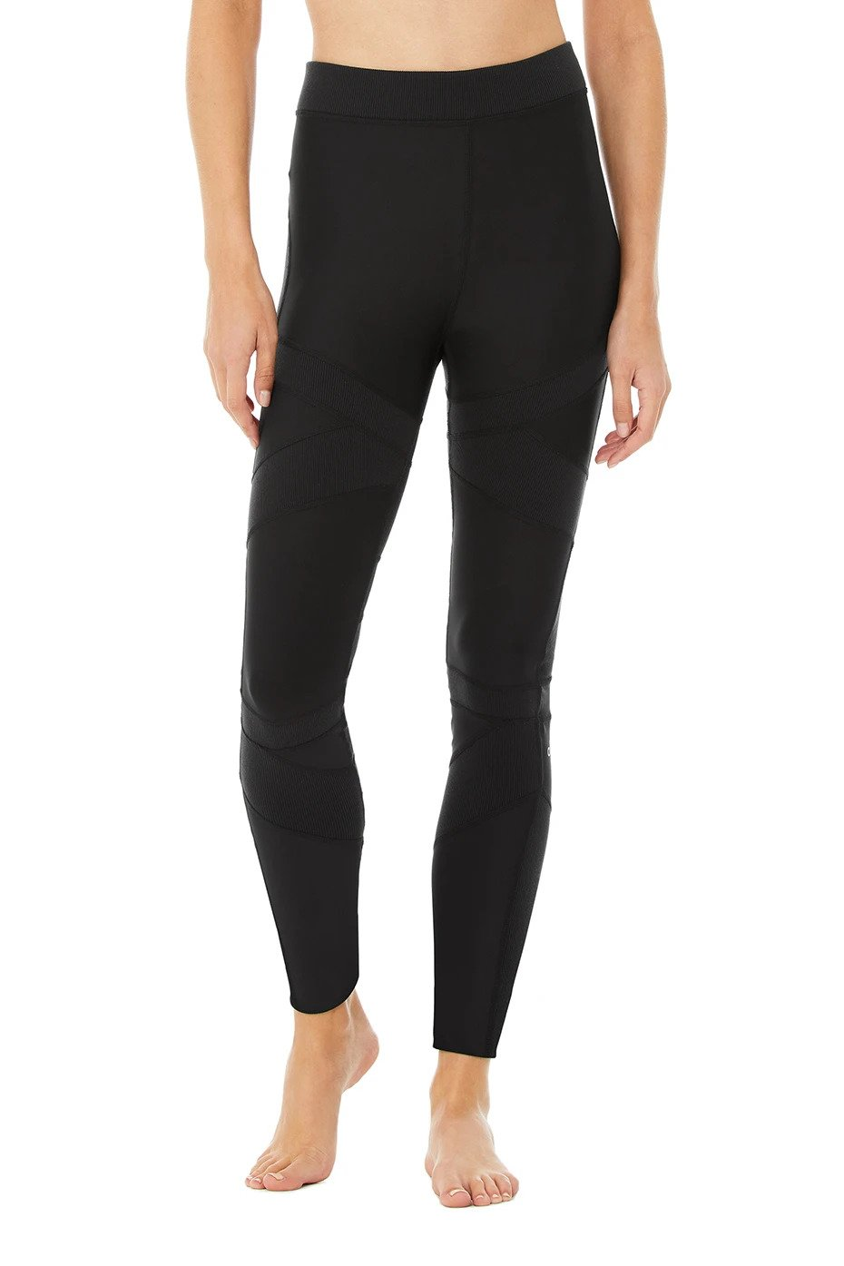 Alo Yoga XS High-Waist Level-Up Legging - Black