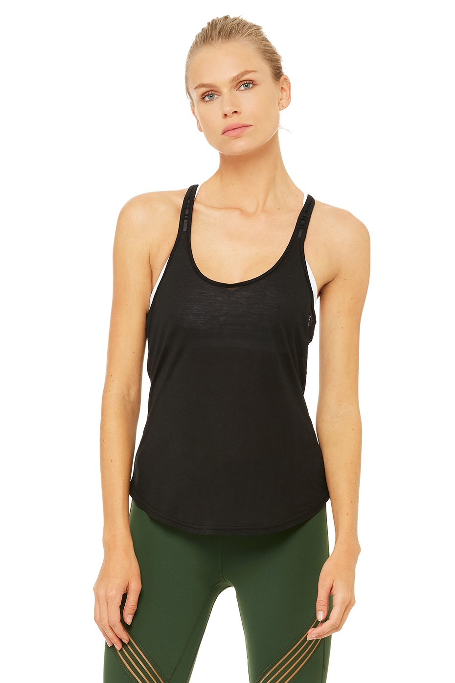 Alo Yoga Mood Tank - Black