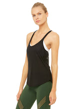 Load image into Gallery viewer, Alo Yoga Mood Tank - Black