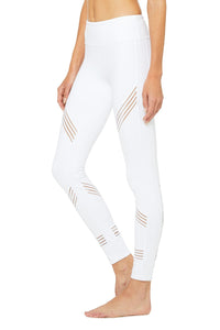 Alo Yoga Multi Legging - White