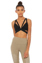 Load image into Gallery viewer, Alo Yoga XS Nadi Bra - Black