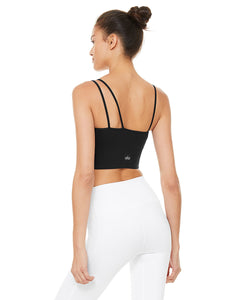 Alo Yoga MEDIUM Offset Bralette - Black