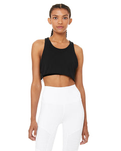 Alo Yoga SMALL Overlay Tank - Black