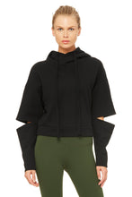 Load image into Gallery viewer, Alo Yoga Peak Long Sleeve Top - Black