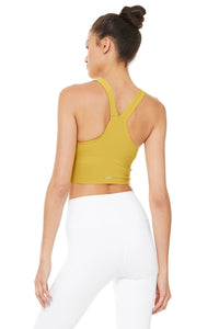 Alo Yoga MEDIUM Real Bra Tank - Sulphur
