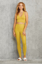 Load image into Gallery viewer, Alo Yoga MEDIUM Real Bra Tank - Sulphur