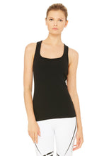 Load image into Gallery viewer, Alo Yoga Rib Support Tank - Black