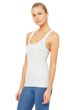 Load image into Gallery viewer, Alo Yoga XS Rib Support Tank - Dove Grey