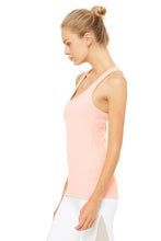Load image into Gallery viewer, Alo Yoga Rib Support Tank - Powder Pink