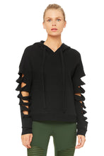 Load image into Gallery viewer, Alo Yoga Slay Long Sleeve Top - Black