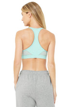 Load image into Gallery viewer, Alo Yoga MEDIUM Speed Bra - Blue Quartz