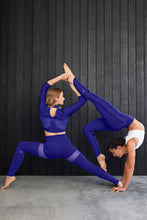Load image into Gallery viewer, Alo Yoga XS Thigh High Legging - Sapphire