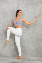 Load image into Gallery viewer, Alo Yoga SMALL United Long Bra - Blue Moon