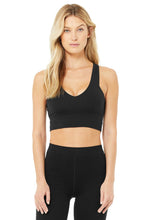 Load image into Gallery viewer, Alo Yoga XS Real Bra Tank - Black