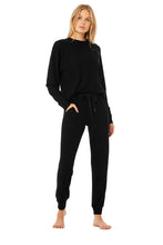 Load image into Gallery viewer, Alo Yoga XS Soho Sweatpant - Black