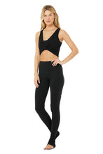 Load image into Gallery viewer, Alo Yoga XS Swirl Tank - Black