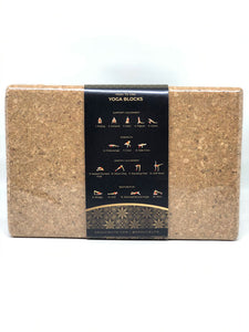 BOGO50 Soulcielite Cork Yoga Blocks, 2 pcs