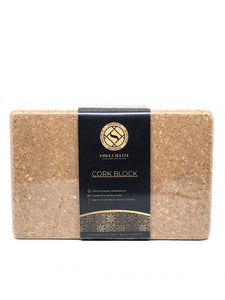 Soulcielite Cork Yoga Block