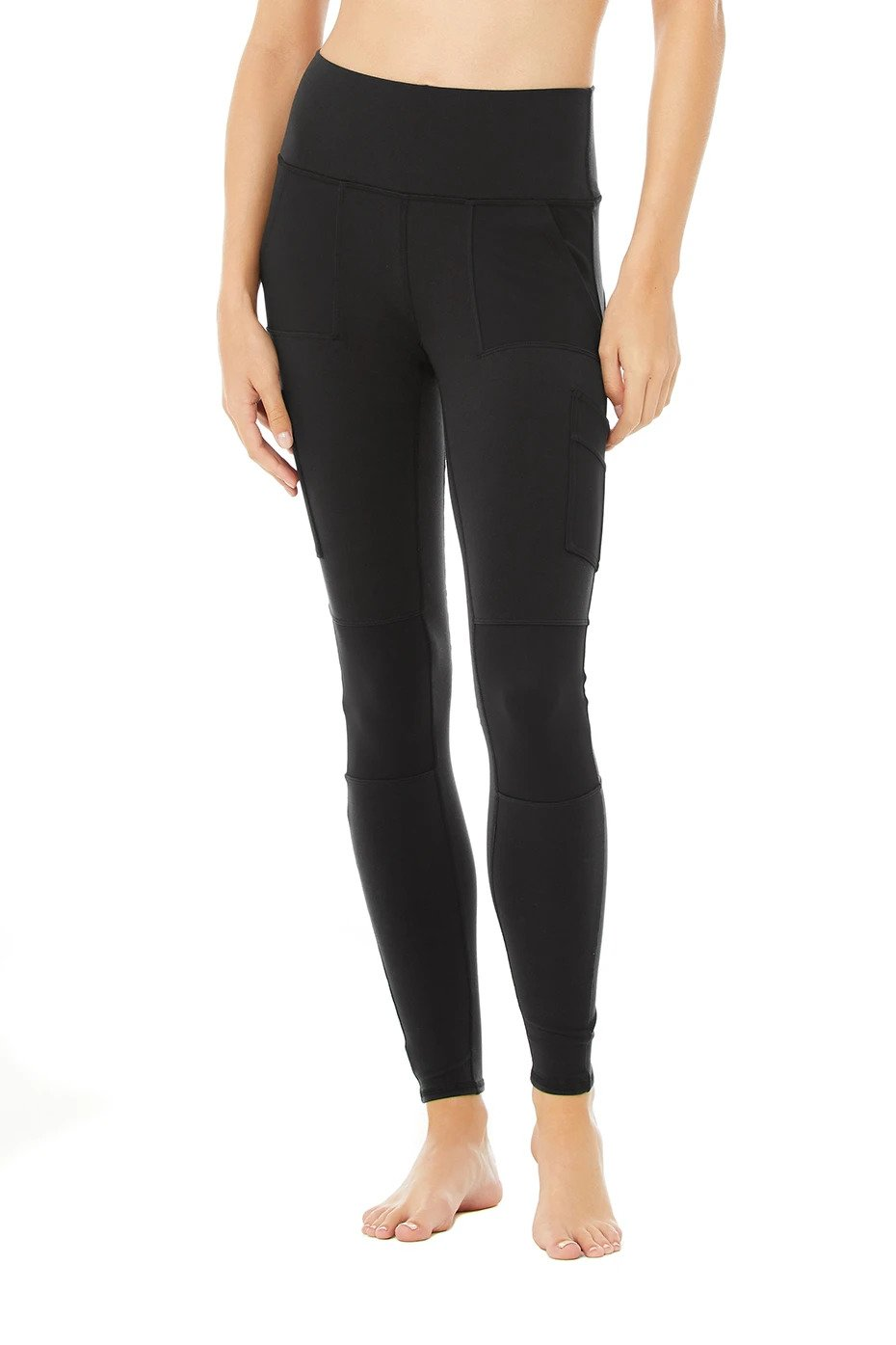Alo Yoga XS High-Waist Cargo Legging - Black