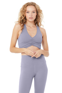 Alo Yoga SMALL Wild Thing Bra  - Blue Moon