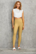 Load image into Gallery viewer, Alo Yoga SMALL High-Waist Airlift Legging - Honey