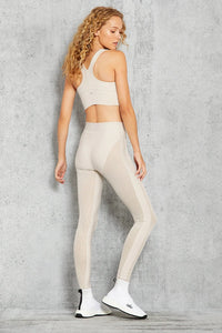 Alo Yoga XXS High-Waist Energize Legging - Bone