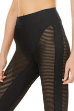 Load image into Gallery viewer, Alo Yoga XS High-Waist Energize Legging - Black