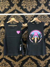 Load image into Gallery viewer, Spiritual Gangster XS Radiate Gigi Muscle Tank - Vintage Black