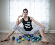 Load image into Gallery viewer, Yoga Tune Up Therapy Ball PLUS Pair in Tote