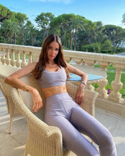 Load image into Gallery viewer, Alo Yoga XXS High-Waist Embody Legging - Lavender Smoke