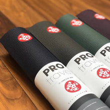 Load image into Gallery viewer, Manduka Mat Pro® Travel Yoga Mat - Black