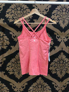 Manduka SMALL Cross Strap Cami 2.0 - Heather Vibrance