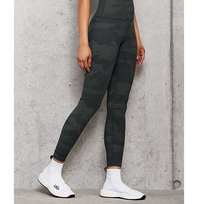Load image into Gallery viewer, Alo Yoga SMALL High-Waist Camo Vapor Legging - Hunter Camouflage
