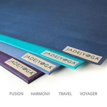Load image into Gallery viewer, Jade Fusion 68'' Yoga Mat 8mm - Slate Blue
