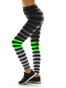 K-Deer XS High-Waist 7/8 Sneaker Length - Erika Stripe