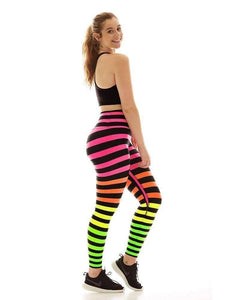K-Deer XS High-Waist 7/8 Sneaker Length - Josephine Stripe