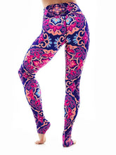 Load image into Gallery viewer, K-Deer XS High-Waist Medallion Legging - Boho Nouveau