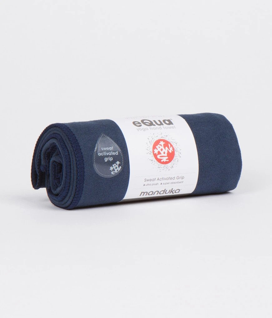 Manduka Equa® Hand Yoga Towel - Midnight