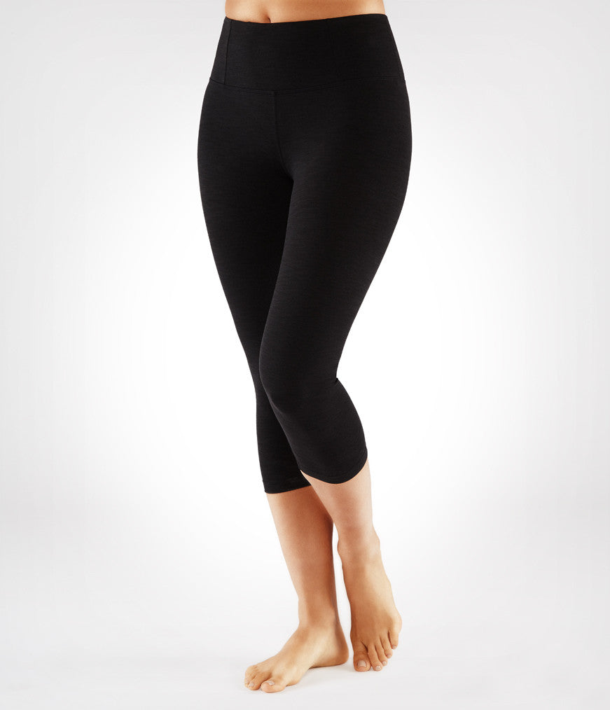 Manduka Essential Capri Legging - Black