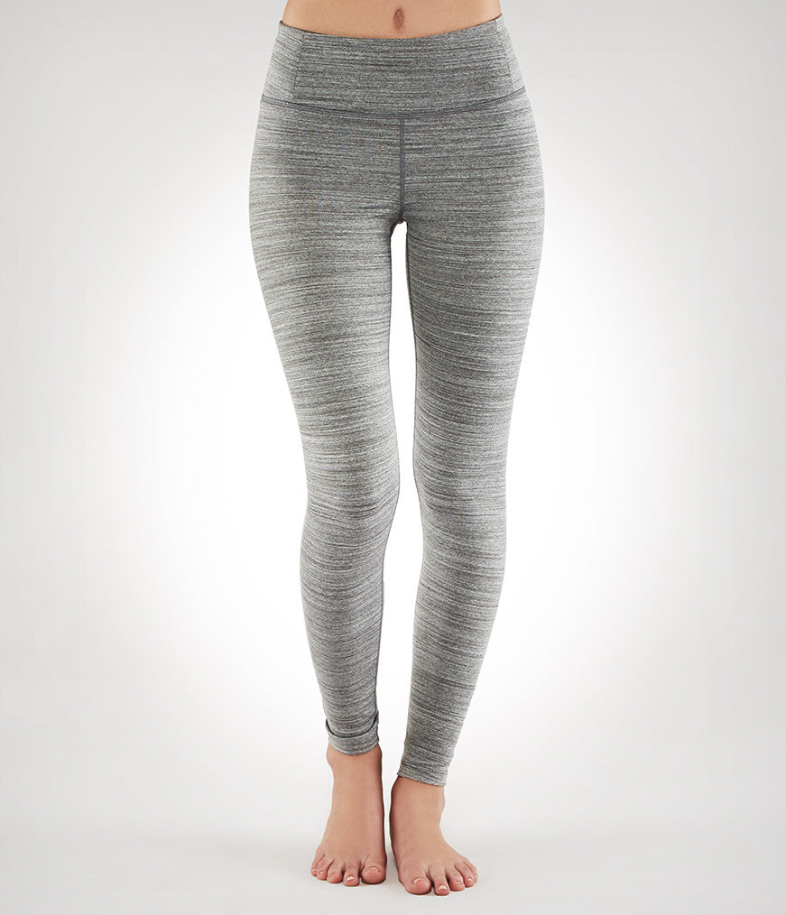 Manduka SMALL Essential Legging - Dark Heather Grey
