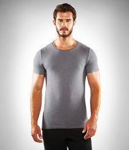 Load image into Gallery viewer, Manduka Men's Organic Tee - Thunder