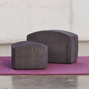 Manduka UnBlok Recycled Foam Yoga Block - Thunder