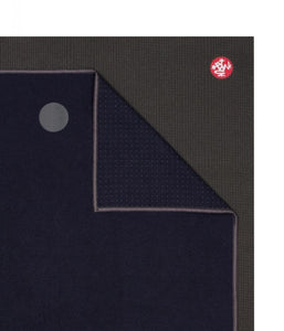 Manduka Yogitoes® Yoga Mat Towel - Midnight