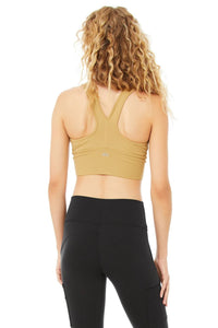 Alo Yoga SMALL Wild Thing Bra  - Honey