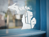 Michigan Pro-Life State Window Sticker