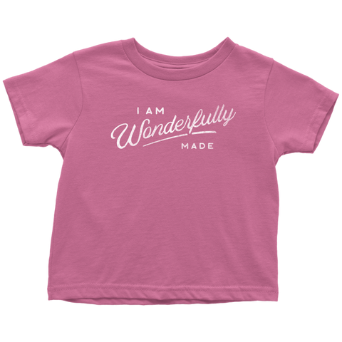 Wonderfully Made Tee (Toddler)