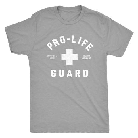 Pro-Life Guard Tee (Men's/Unisex)