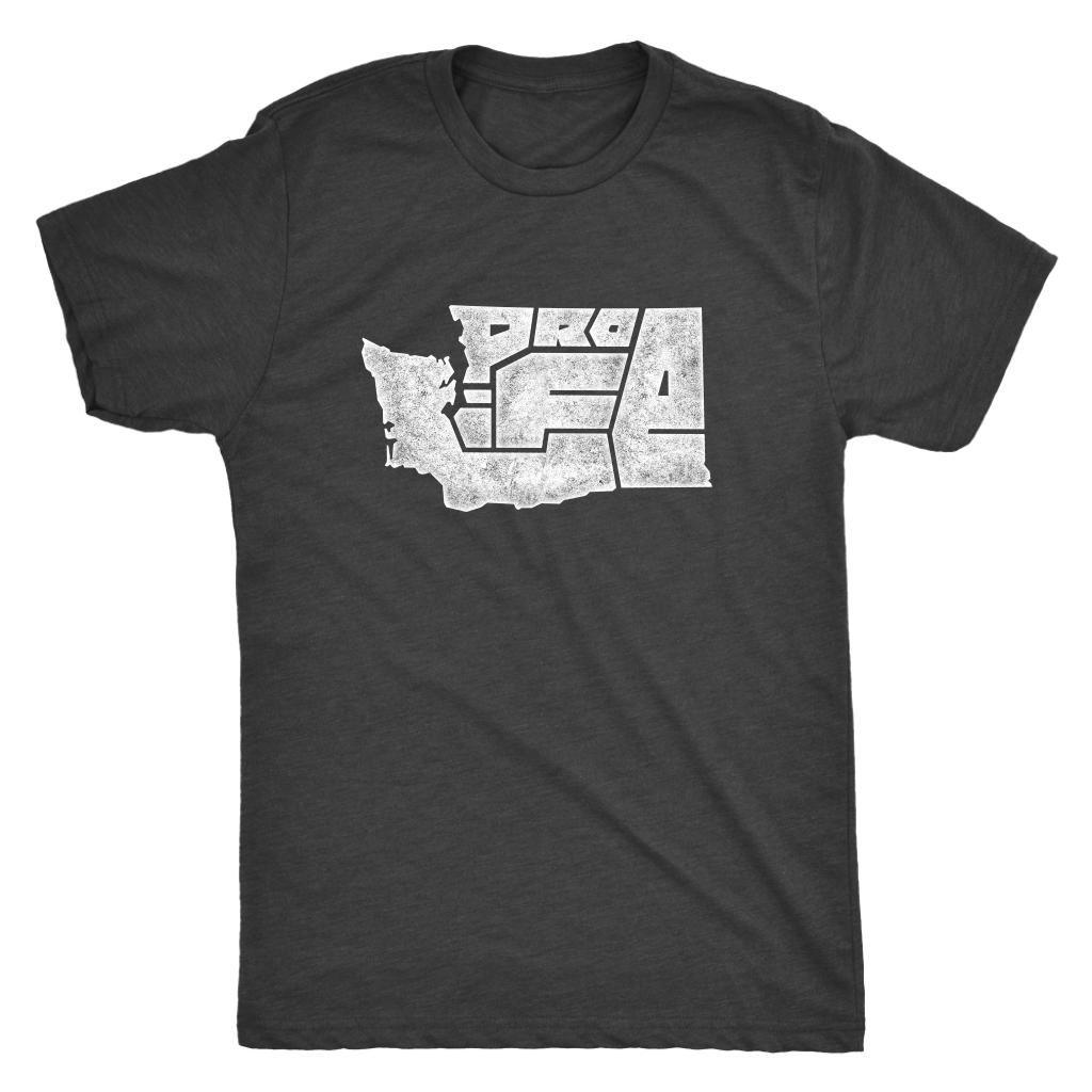 Washington Pro-Life State Tee (Men's/Unisex)